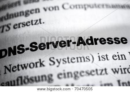 DNS Server Address