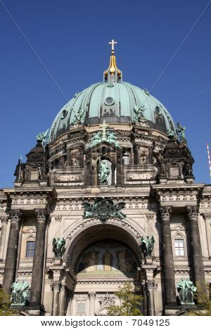 The Berliner Dom is a popular tourist destination in the heart of Berlin