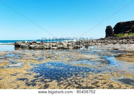 Rock Near The Sea