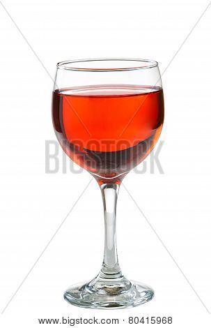 Red Wine In Glass Perfect For The Occasion