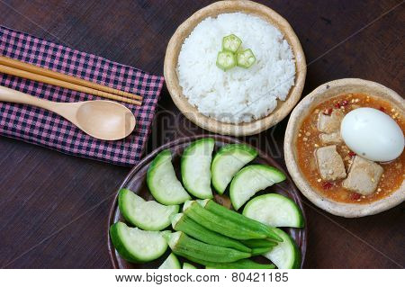 Vietnamese Food, Vegetarian, Diet Menu