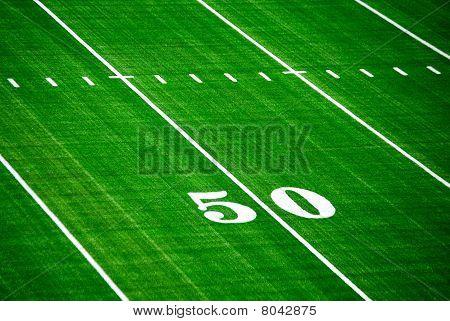 50-Yard-Linie