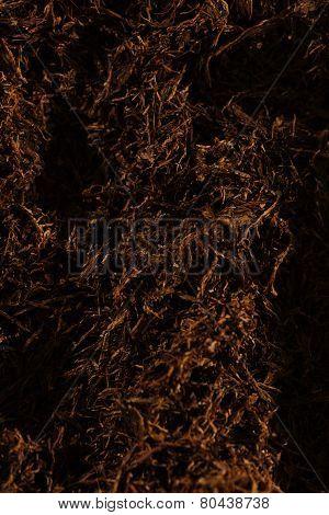 Fine Cut Tobacco Detail