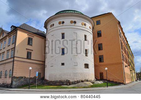 Stockholm. Old Architecture On  Riddarholmen