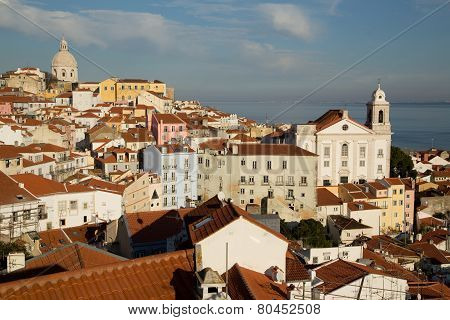 view from alfama