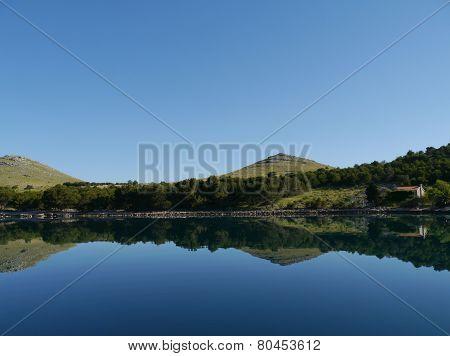 The Croatian island Kornat