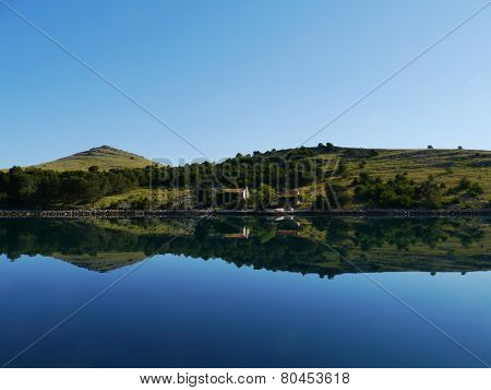 The Statival bay in Croatia