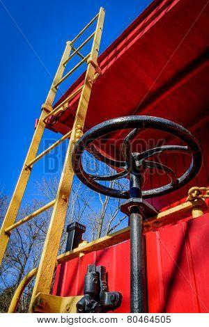 Caboose Ladder And Brake Wheel