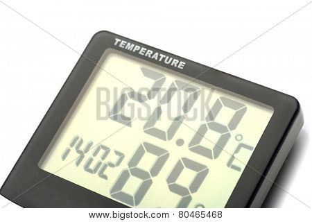 Electronic thermometer poster