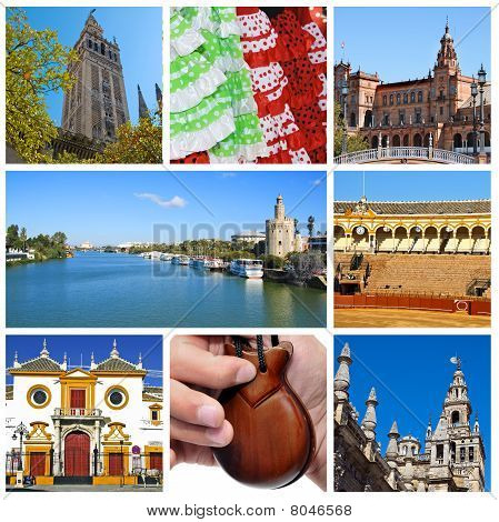 Seville Collage