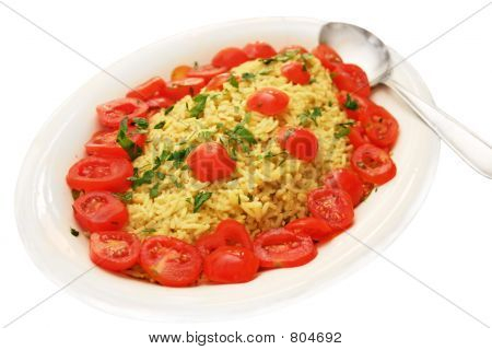 Indian curry rice dish