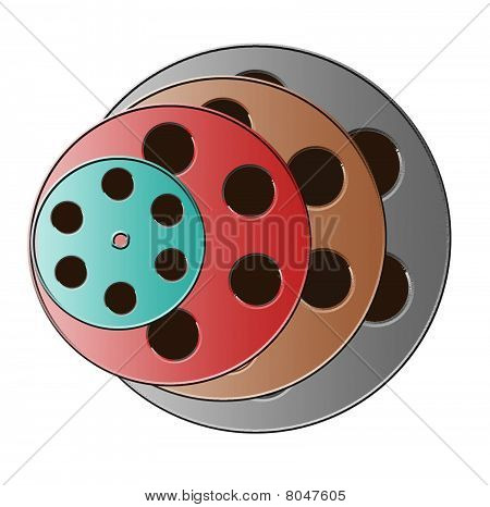 Assorted Film Reels