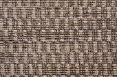 texture of brown fabric and closeup background poster