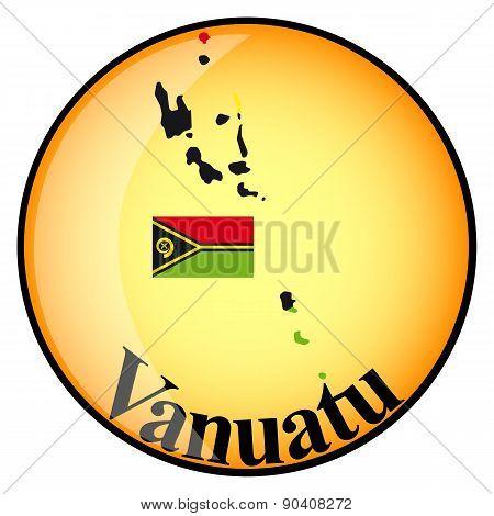 Orange Button With The Image Maps Of Vanuatu