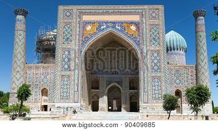 Sher Dor Medressa - Registan - Samarkand - Uzbekistan