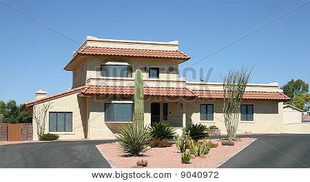 Desert Landscape House