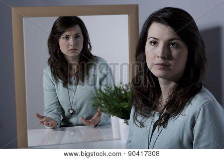Teenage Girl With Manic Depression