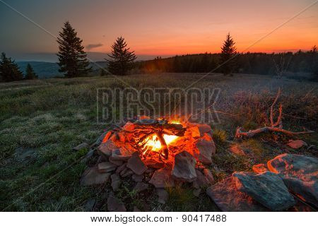 Dolly Sods Campfire