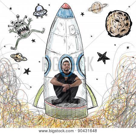 Be an astronaut