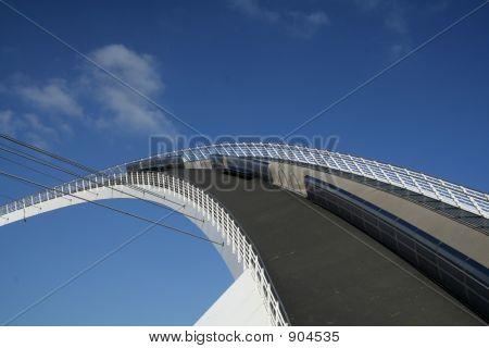 Footpath Of The Millenium Bridge