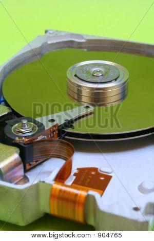 Hard Disk Drive - Green