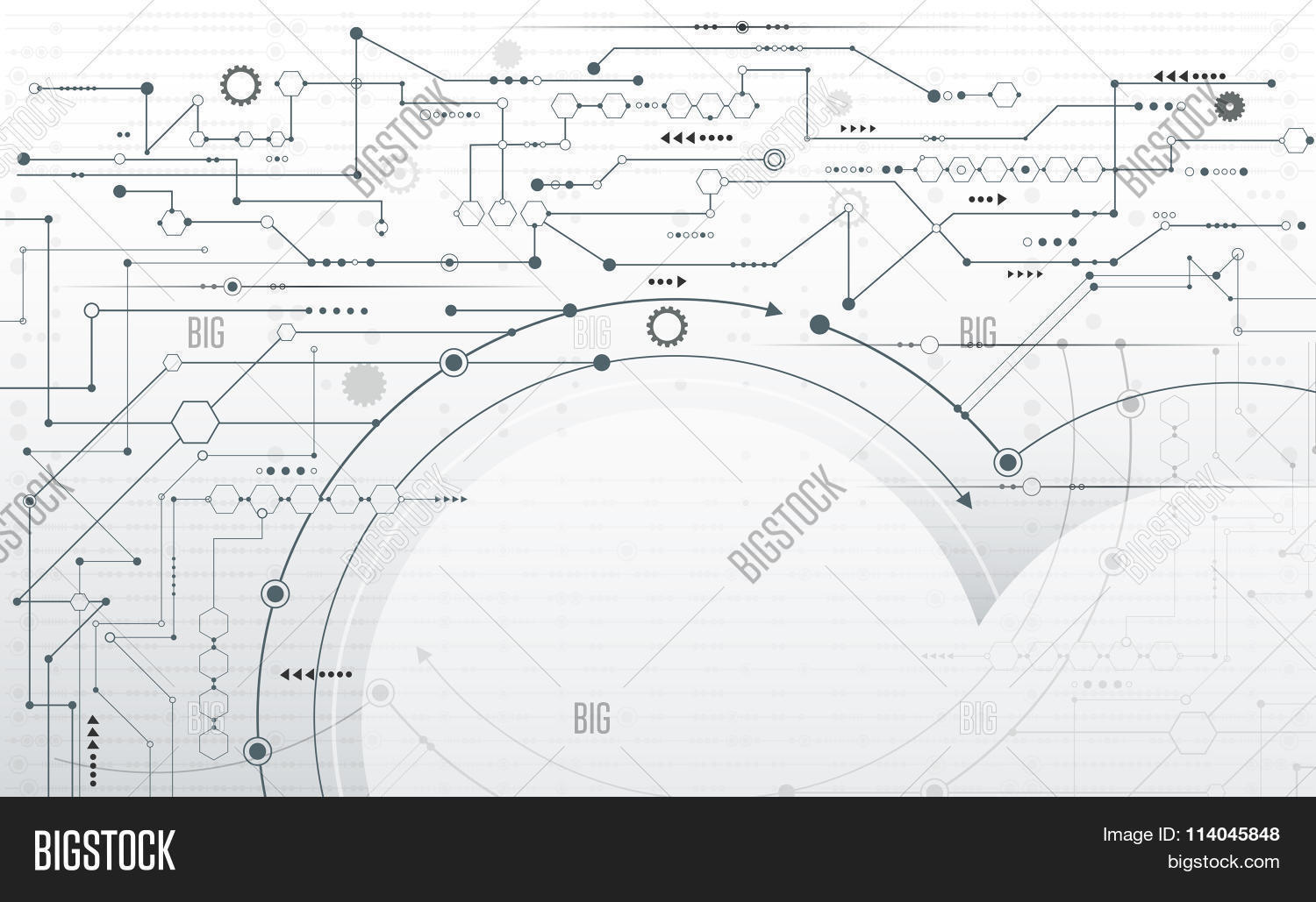 Abstract Futuristic Vector & Photo (Free Trial) | Bigstock