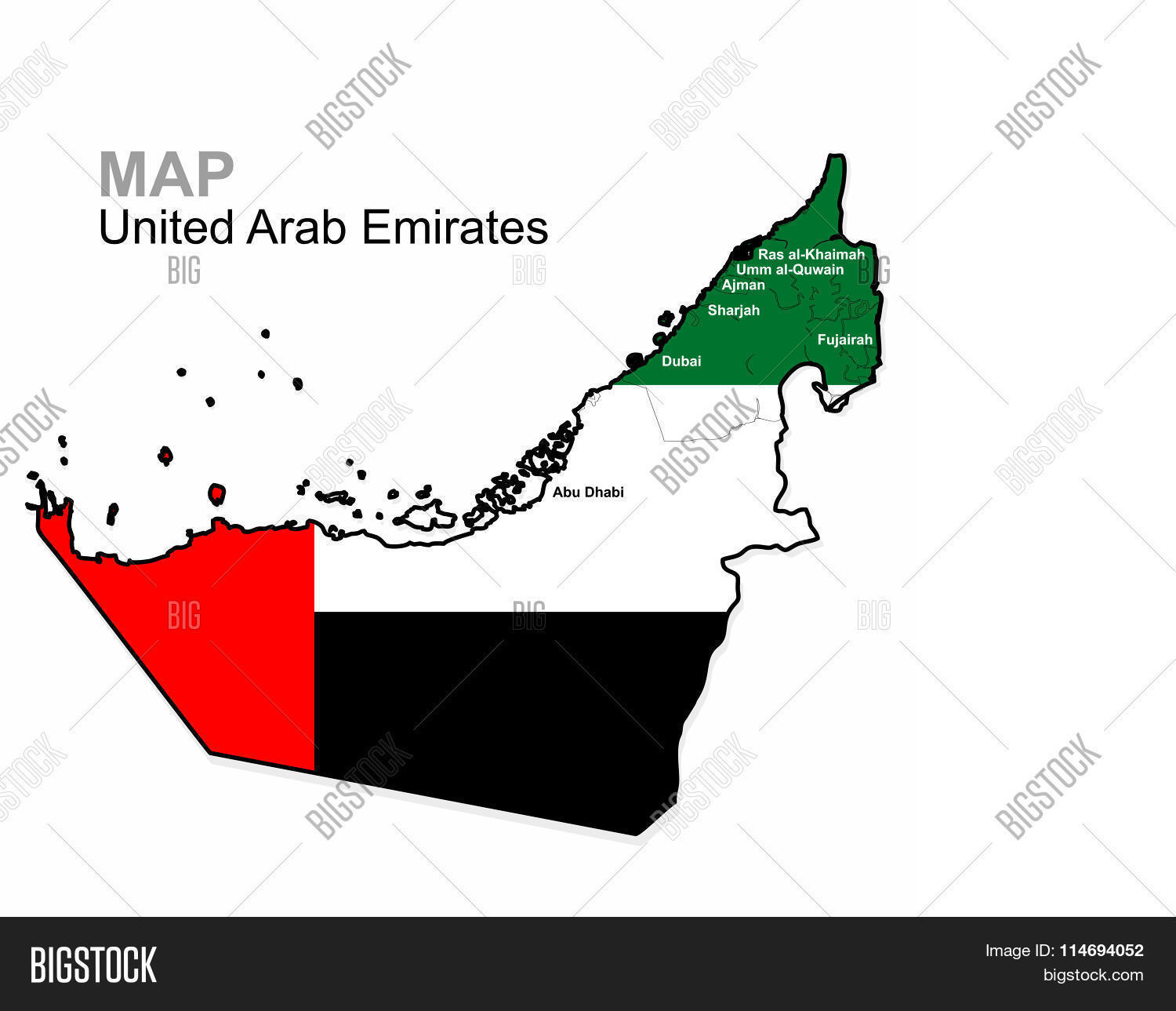 UAE Vector United Arab Emirates Vector Photo Bigstock