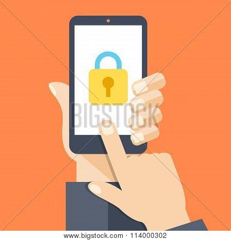 Smartphone lock screen