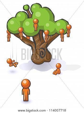 Design Mascot Falling Not Far From Tree