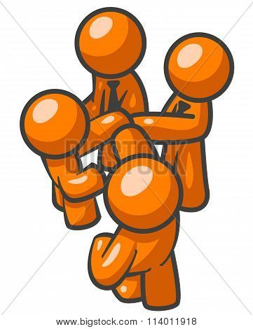Orange Man In On Deal