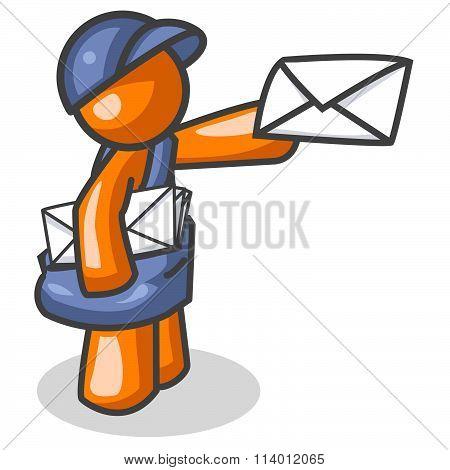 Orange Man Mail