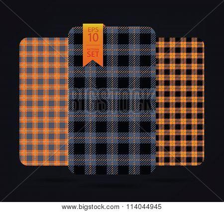 Gingham Patterns and buffalo check plaid patterns