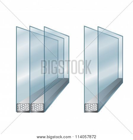 Element Of Window - Glass