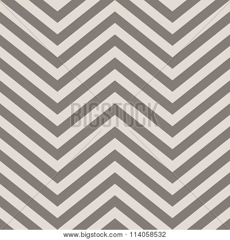 Full Frame Abstract Background in Square Image Format - Geometric Background Comprised of V Shape Chevron Arrows in Shades of Gray poster