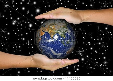 Hands and the world