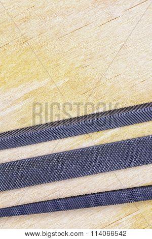 Closeup Set Of Rasp