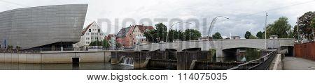 Bridge And Donau River