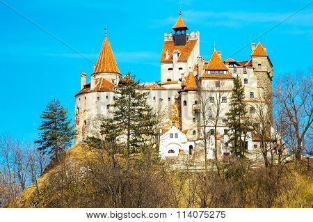Bran Castle, Romania, known for the story of Dracula