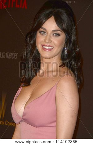 LOS ANGELES - JAN 10:  Katy Perry at the Weinstein Company & Netflix 2016 Golden Globe After Party at the Beverly Hilton on January 10, 2016 in Beverly Hills, CA