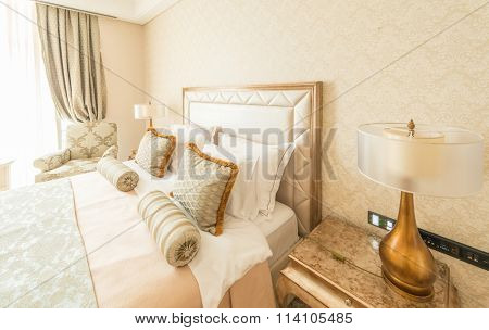Quba - MARCH 24, 2015: Rixos Hotel on March 24 in Azerbaijan, Quba. Rixos hotel in popular hotel in Quba region