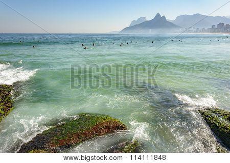 Arpoador beach