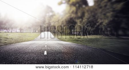 Road Travel Journey Nature Scenics Concept