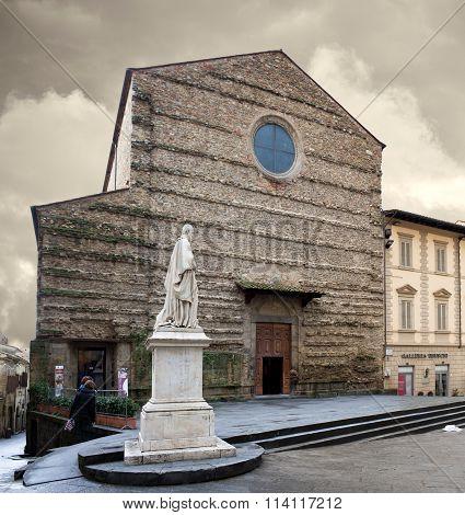 St Francis Basilica Arezzo Italy