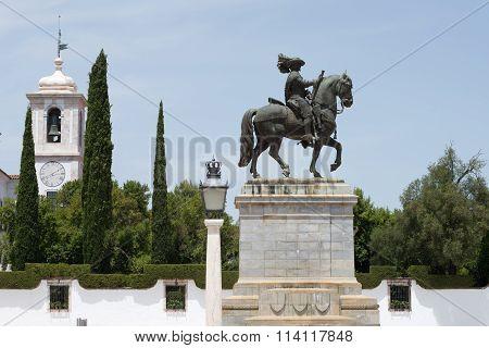 Statue of James, 4th duke of Braganza
