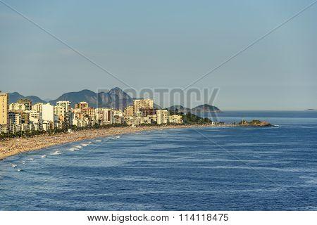 Ipanema Leblon and Arpoador beaches