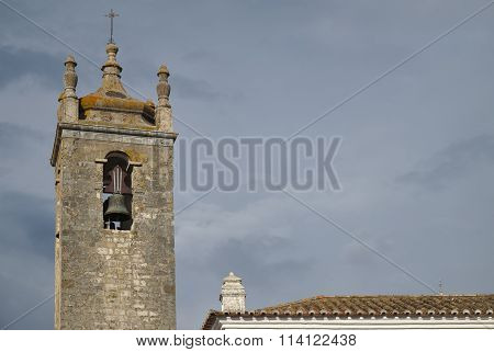 Detail of Matriz Church in Loule