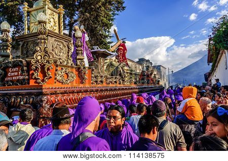 Lent Religious Procession, Antigua, Guatemala