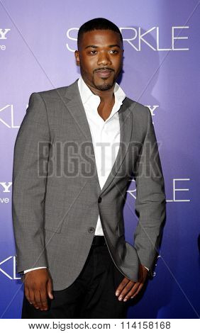 LOS ANGELES, CALIFORNIA - August 16, 2012. Ray J. at the Los Angeles premiere of 'Sparkle' held at the Grauman's Chinese Theatre, Los Angeles.