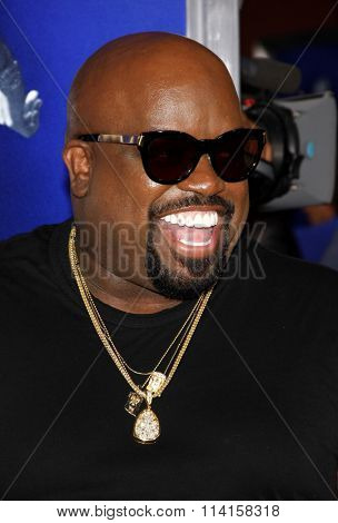 LOS ANGELES, CALIFORNIA - August 16, 2012. Cee-Lo at the Los Angeles premiere of 'Sparkle' held at the Grauman's Chinese Theatre, Los Angeles.