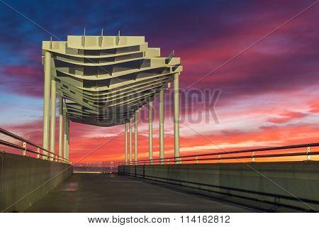 Napier Viewing Platform Sun Up
